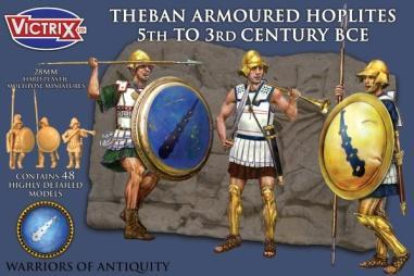 Victrix 28mm Warriors of Antiquity: Theban Armoured Hoplites