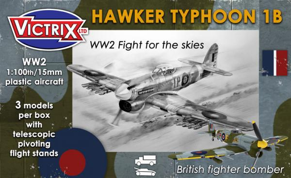 Victrix: WW2 Fight For The Skies: Hawkwer Typhoon 1B