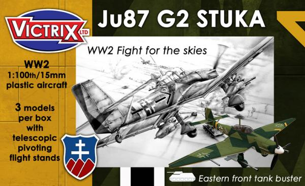 Victrix: WW2 Fight For The Skies: Ju87 G2 STUKA
