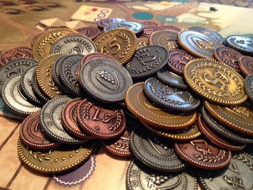 Viticulture/ Tuscany: Metal Coins