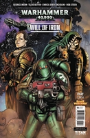 WARHAMMER 40000 WILL OF IRON #1: Variant Cover 1