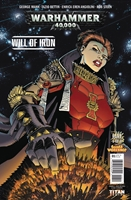 WARHAMMER 40000 WILL OF IRON #1: Variant Cover 2