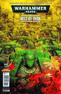 WARHAMMER 40000 WILL OF IRON #2: Variant Cover 1