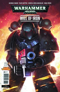 WARHAMMER 40000 WILL OF IRON #2: Variant Cover 2