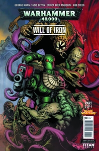 WARHAMMER 40000 WILL OF IRON #2: Variant Cover 3