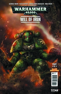 WARHAMMER 40000 WILL OF IRON #2: Variant Cover 4