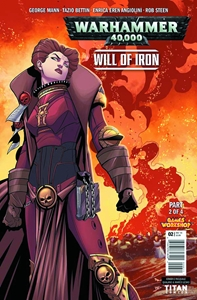 WARHAMMER 40000 WILL OF IRON #2: Variant Cover 5