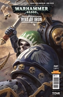 WARHAMMER 40000 WILL OF IRON #3: Variant Cover 1
