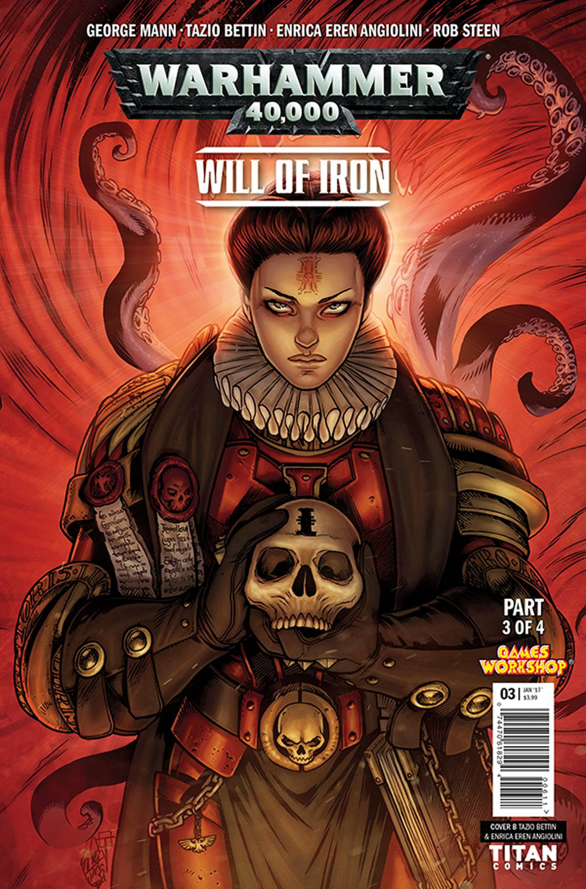 WARHAMMER 40,000 WILL OF IRON #3: Variant Cover 3