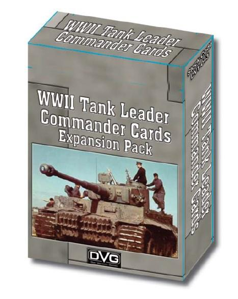 WWII Tank Leader Commander Cards Expansion Pack
