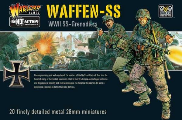 Bolt Action: German: Waffen SS Grenadier Platoon- Late (1943-1945)