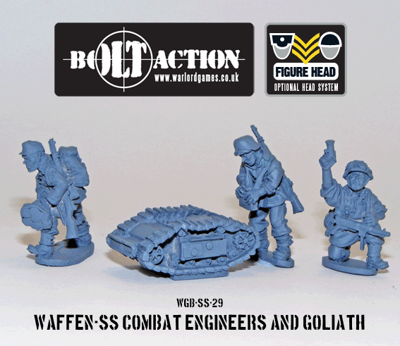 Bolt Action: German: Waffen SS Combat Engineers and Goliath