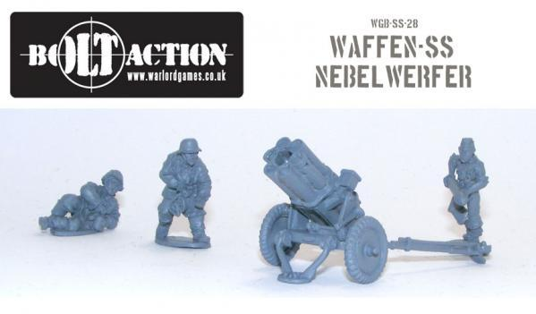 Bolt Action: German: Waffen SS Nebelwerfer