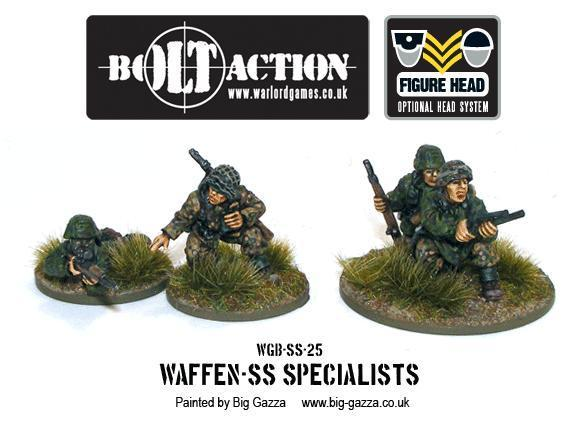 Bolt Action: German: Waffen SS Specialists