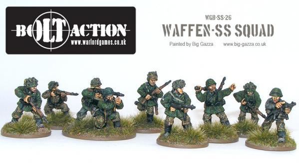 Bolt Action: German: Waffen SS Squad