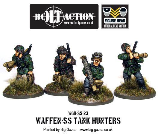 Bolt Action: German: Waffen SS Tank Hunters