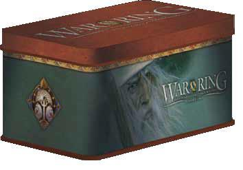 War of the Ring (2nd Edition): Gandalf Card Box with Sleeves