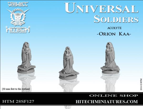 WarHell: Universal Soldiers- Acolyte Orion Kaa