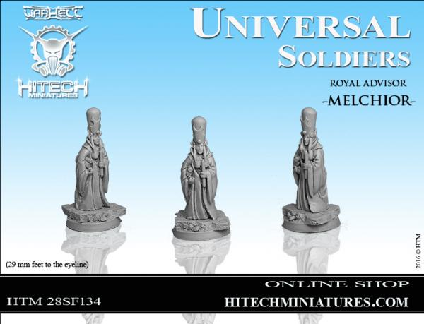 WarHell: Universal Soldiers- Royal Advisor Melchior