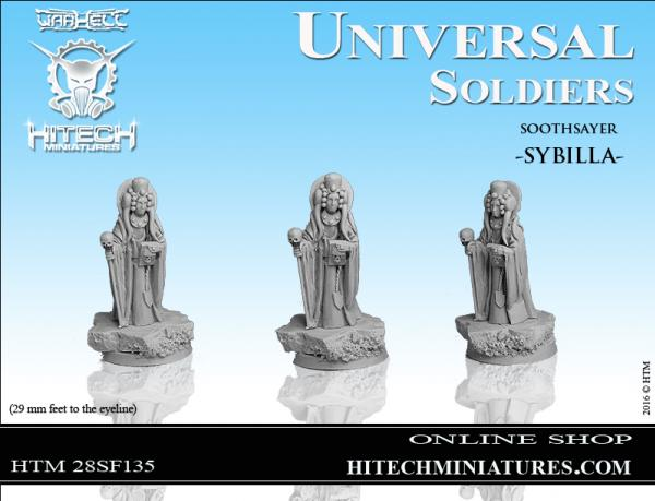 WarHell: Universal Soldiers- Soothsayer Sybilla