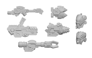 Warcaster: Aeternus Continuum- Scourge A Weapon Pack