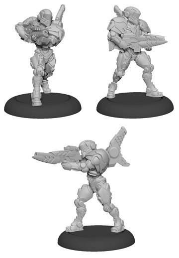 Warcaster: Iron Star Alliance- Paladin Enforcers Squad