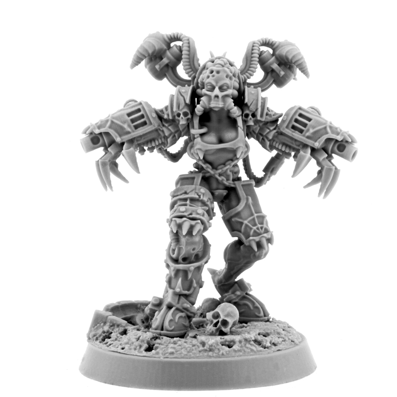 Wargame Exclusive: Chaos: POSSESSED CULTIST WITH CLAWS