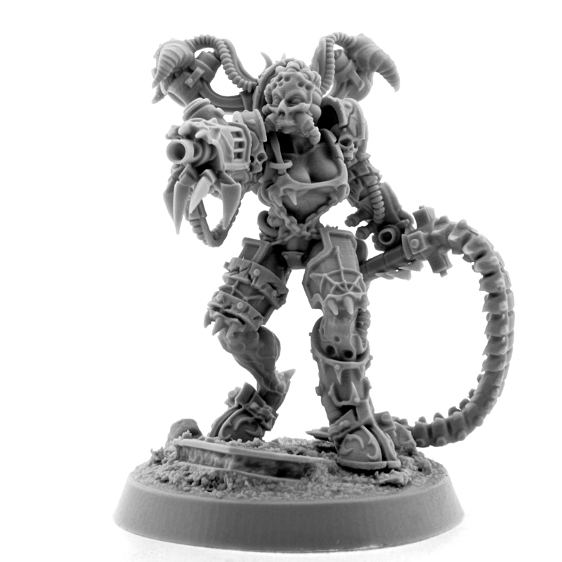 Wargame Exclusive: Chaos: POSSESSED CULTIST WITH WHIP