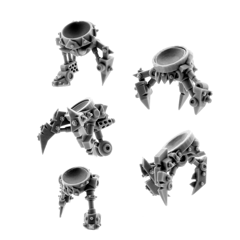 Wargame Exclusive: Orks: CYBORG CONVERSION BITS BIONIC SPIKE AUGMENTATION (5U)