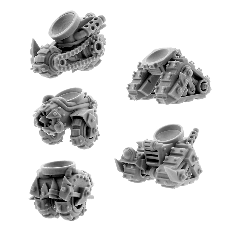 Wargame Exclusive: Orks: CYBORG CONVERSION BITS BIONIC TROLLEY (5U)