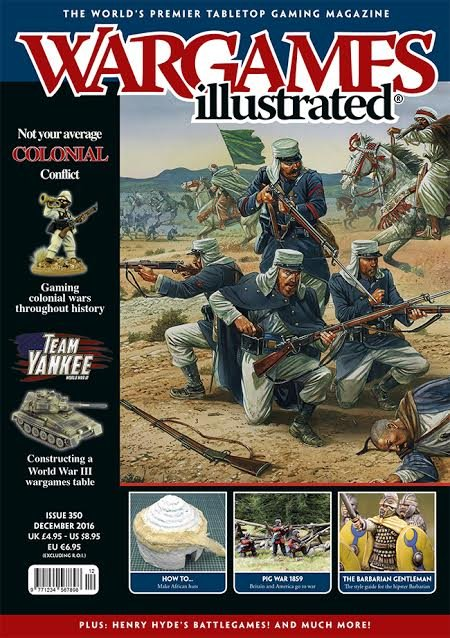 Wargames Illustrated: #350