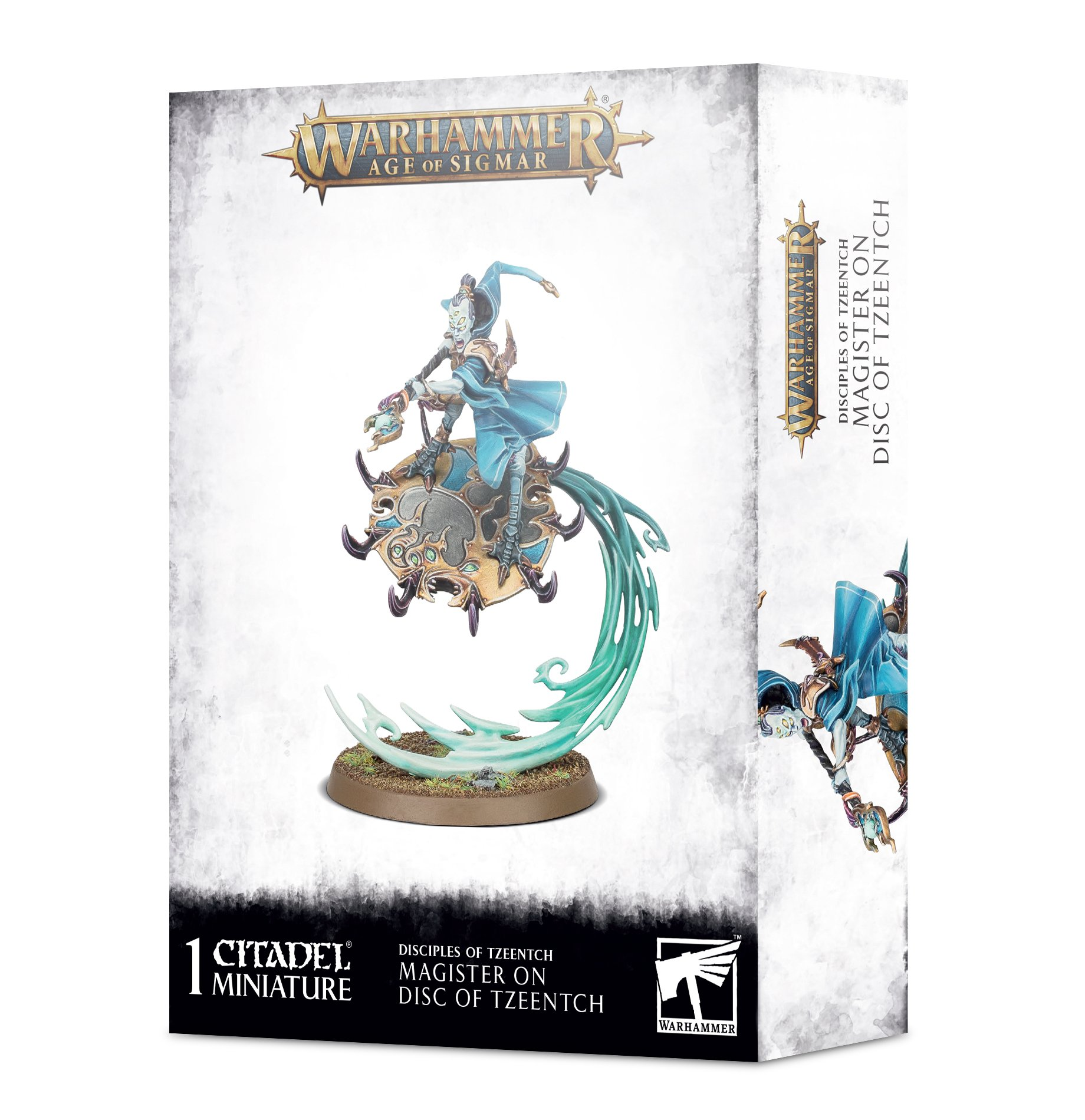Warhamer Age Of Sigmar: Disciples of Tzeentch: Magister on Disc of Tzeentch