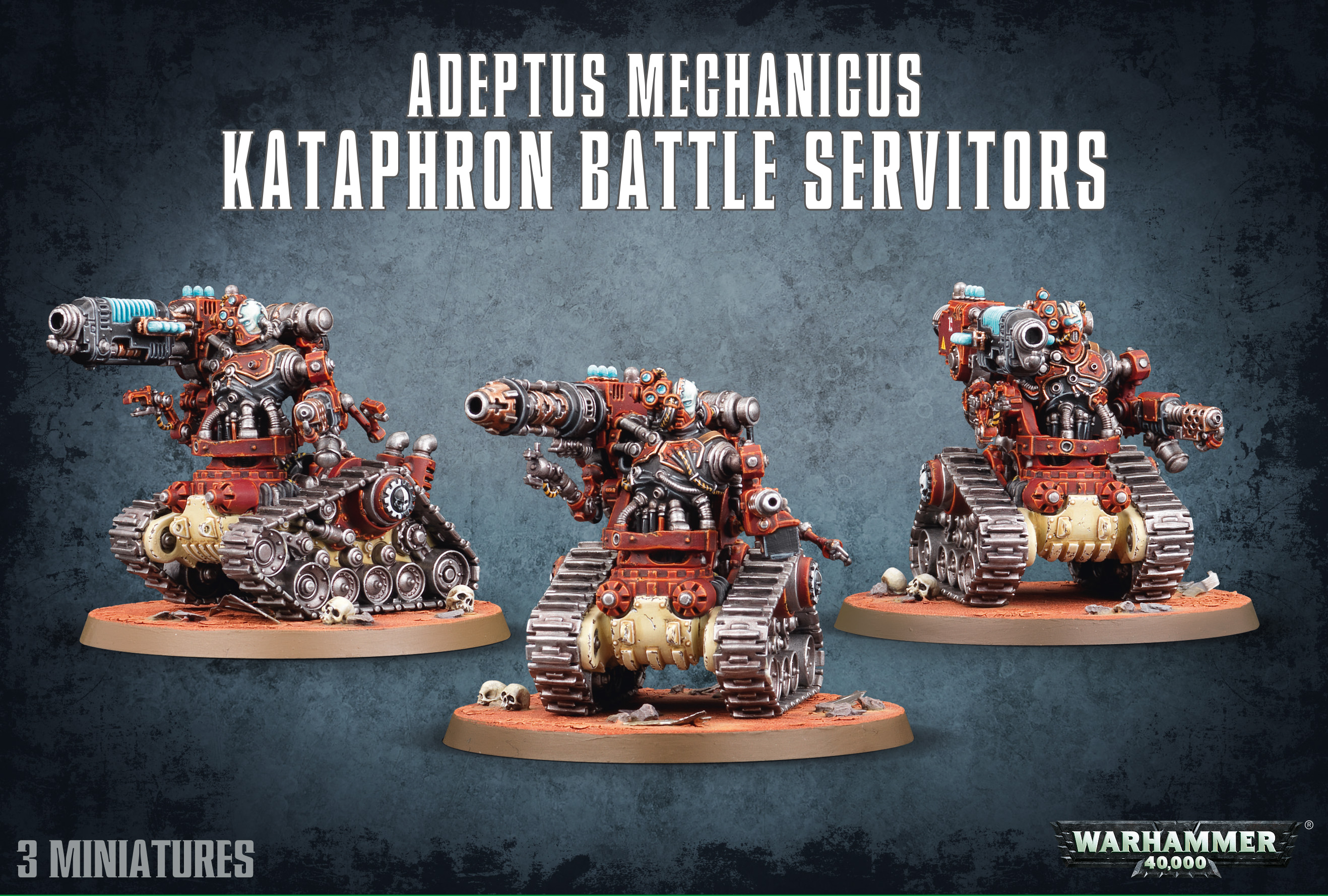 Warhammer 40,000: Adeptus Mechanicus: Kataphron Battle Servitors/ Destroyers