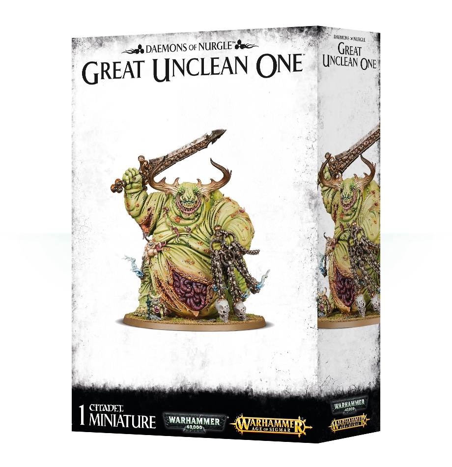 Warhammer 40,000/ Age Of Sigmar: Daemons of Nurgle: Great Unclean One
