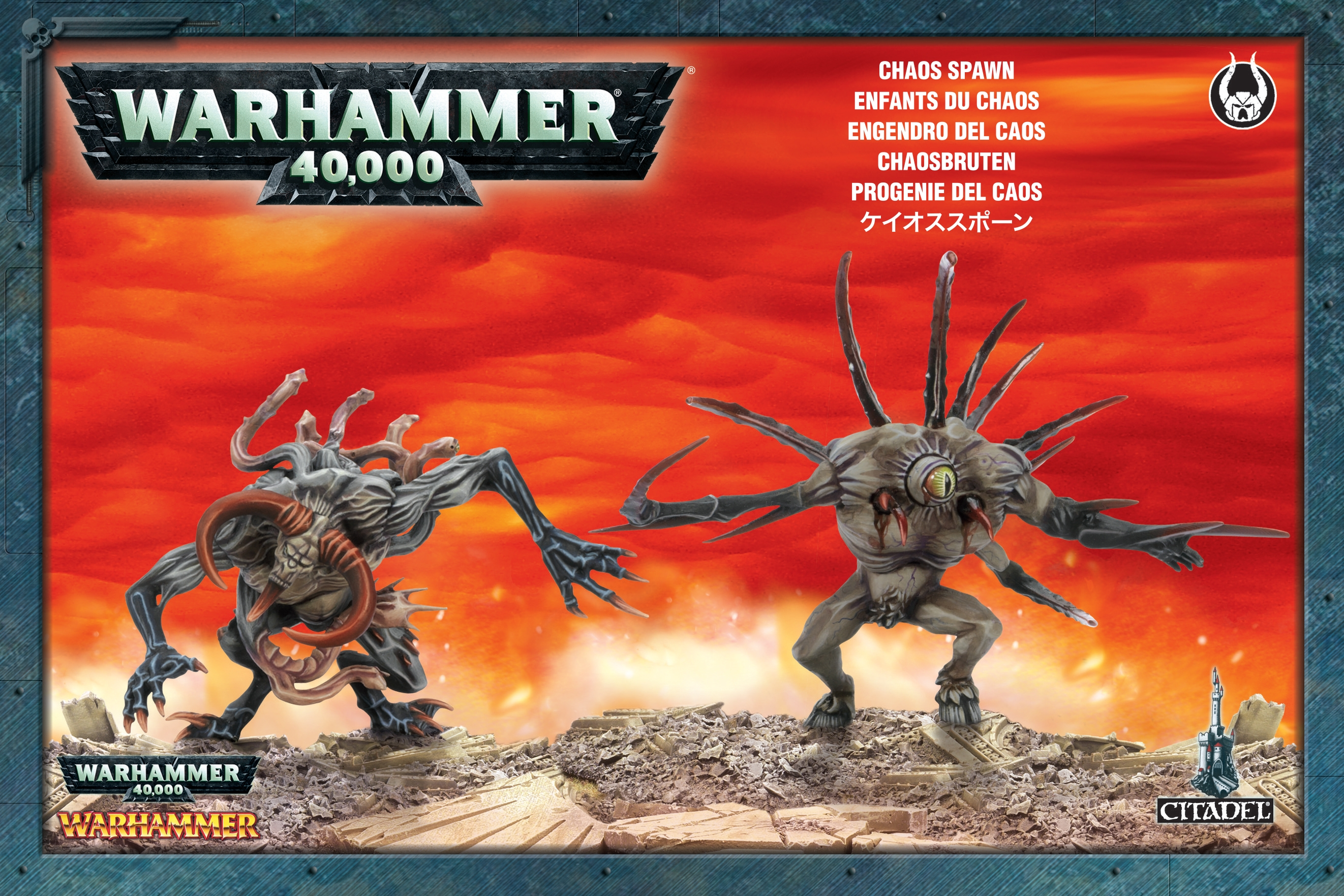Warhammer 40,000/ Age Of Sigmar: Slaves To Darkness: Chaos Spawn