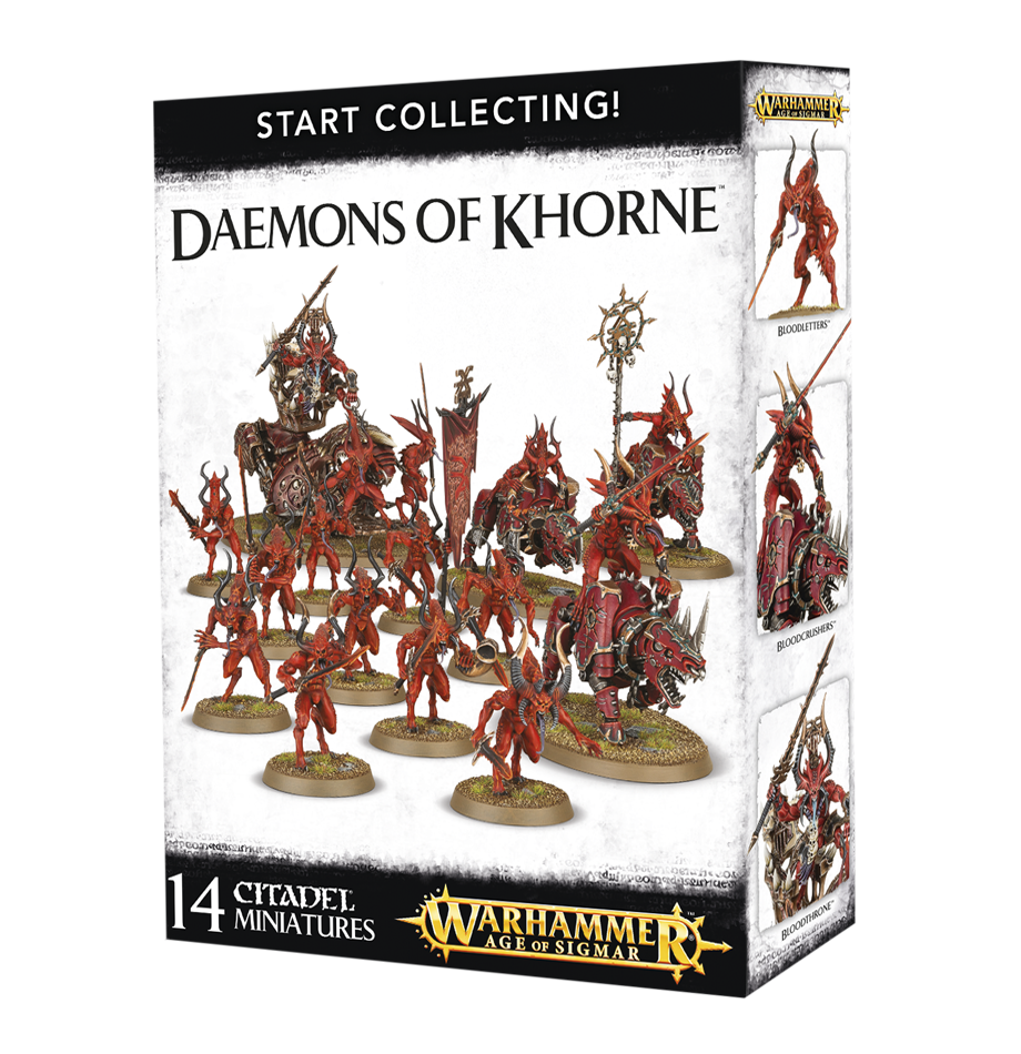 Warhammer 40,000/Age of Sigmar: Daemons of Khorne: Start Collecting!