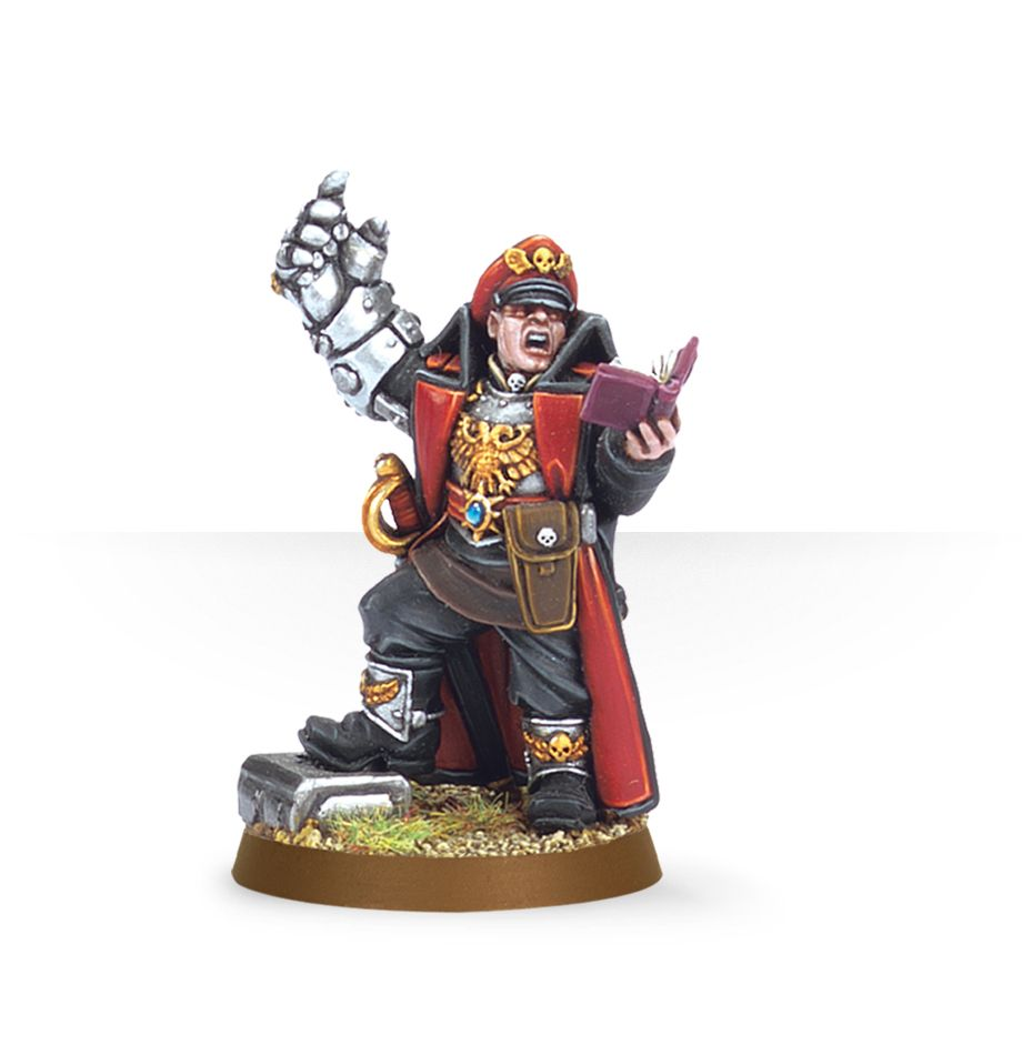 Warhammer 40,000: Astra Militarum: Commissar with Power Fist