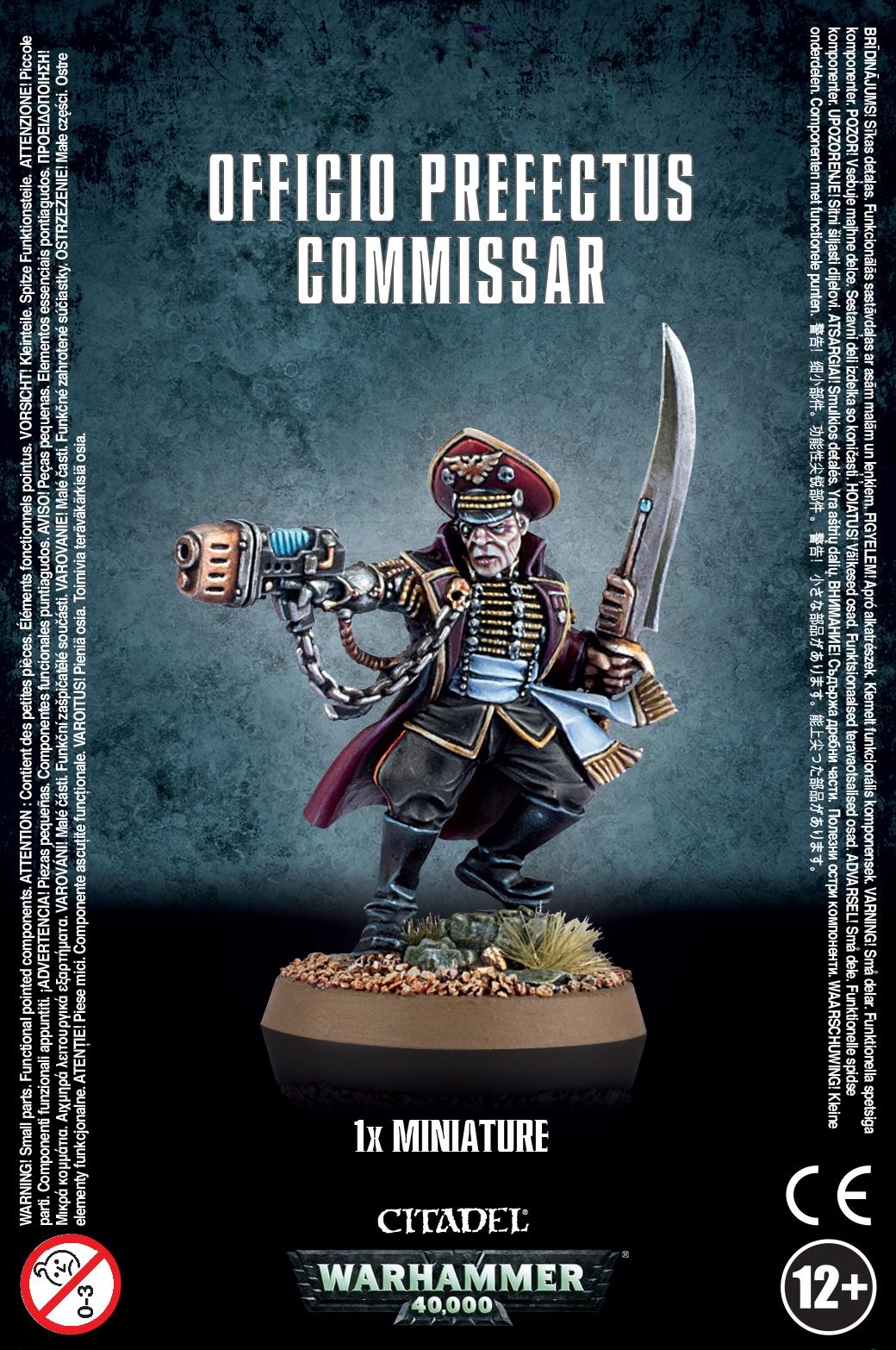 Astra Militarum Officio Prefectus Commissar Games Workshop 5011921997640