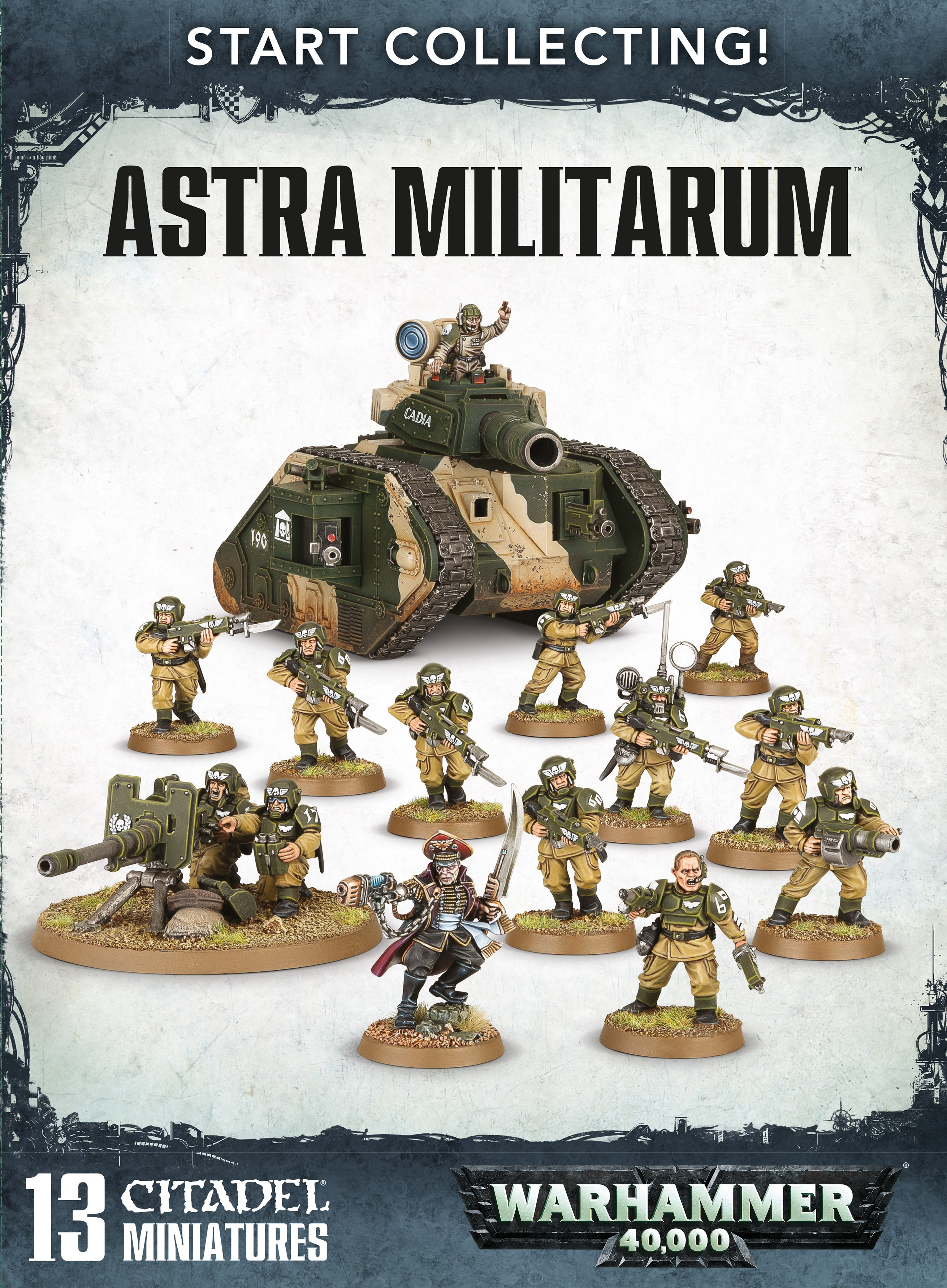 Warhammer 40,000: Astra Militarum: Start Collecting!