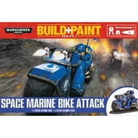 Warhammer 40,000: Battle for Vedros Build+Paint: Space Marine Bike Attack