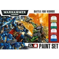 Warhammer 40,000: Battle for Vedros Paint Set
