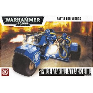 Warhammer 40,000: Battle for Vedros Space Marine Attack Bike