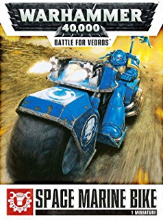 Warhammer 40,000: Battle for Vedros Space Marine Bike