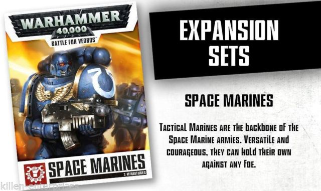 Warhammer 40,000: Battle for Vedros Space Marines