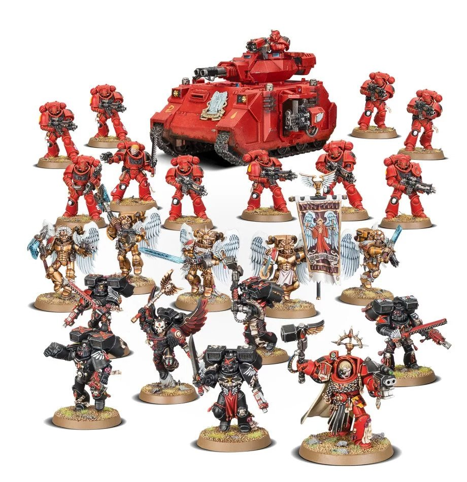 Warhammer 40,000: Blood Angels: Crimson Spear Strike Force