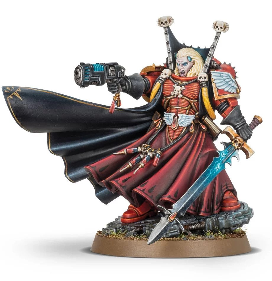 Warhammer 40,000: Blood Angels: Mephiston Lord Of Death (2019 Version)