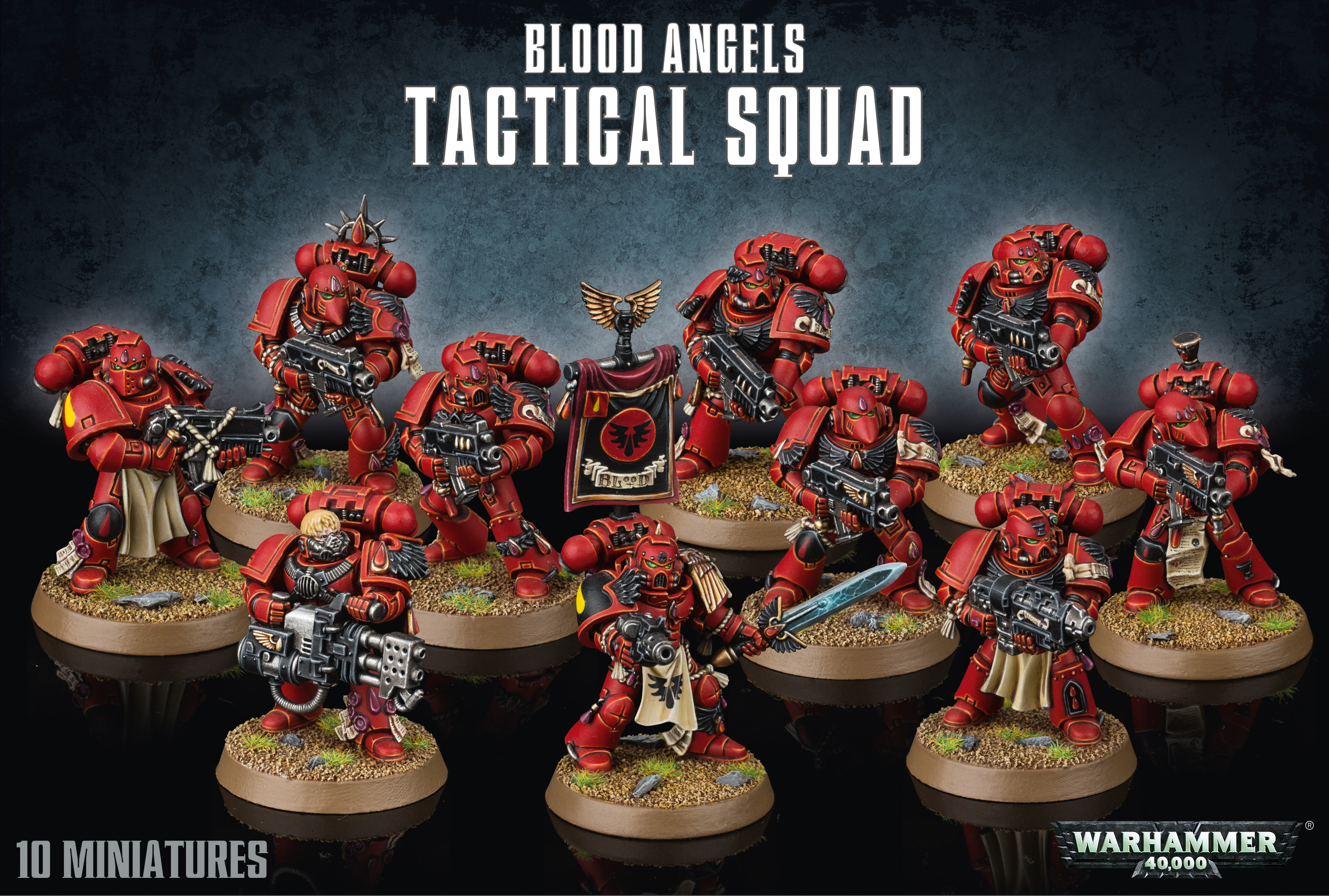 Warhammer 40,000: Blood Angels: Tactical Squad