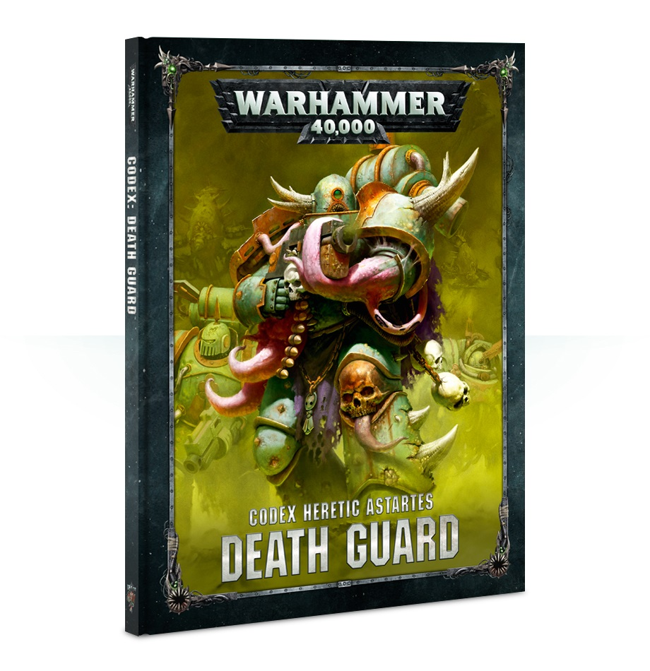 Warhammer 40,000: CODEX: DEATH GUARD (HB)