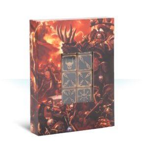 Warhammer 40,000: Chaos Space Marines: Dice Set