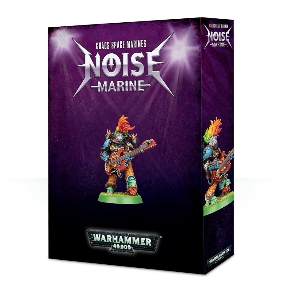 Warhammer 40,000: Chaos Space Marines Noise Marine